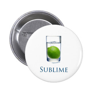 Sublime funny pinback buttons