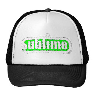 sublime green rough.png hat