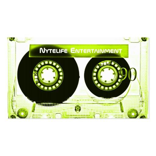 Sublime Lime Mixtape Business Cards