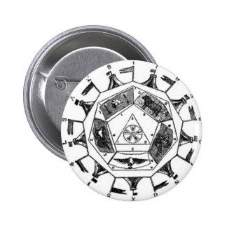 Sublime Prince of the Royal Secret 6 Cm Round Badge