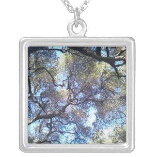 Sublime Square Pendant Necklace
