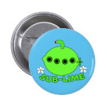 Sublime Sub Lime 6 Cm Round Badge