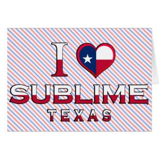 Sublime, Texas Greeting Card