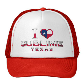 Sublime, Texas Hats