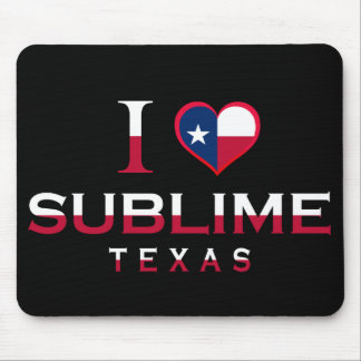 Sublime, Texas Mouse Pads