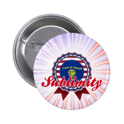 Sublimity, OR Button