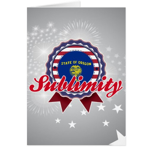 Sublimity, OR Card