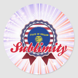Sublimity, OR Stickers