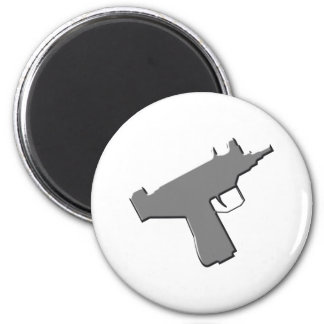 Submachine gun machine pistol Uzi Fridge Magnet