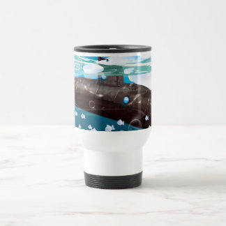Submarine Arctic Adventure Travel Mug