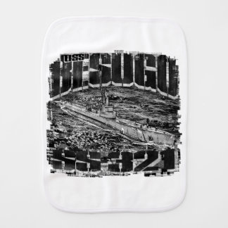 Submarine Besugo Burp Cloth Burp Cloth