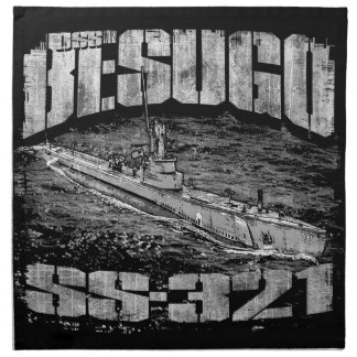 Submarine Besugo Cloth Napkin