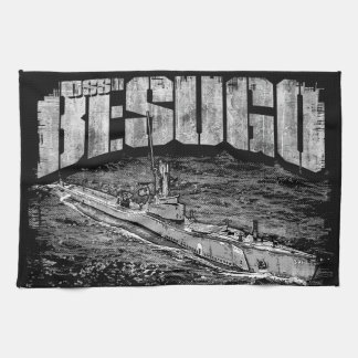 Submarine Besugo Kitchen Towels