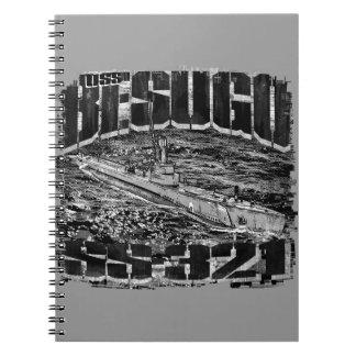 Submarine Besugo Spiral Photo Notebook