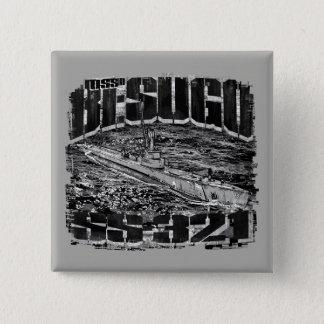 Submarine Besugo Square Button Button