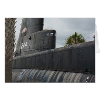 Submarine Card