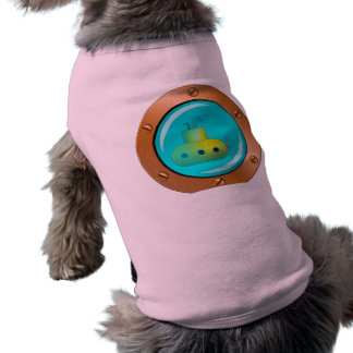 Submarine Sleeveless Dog Shirt