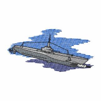 Submarine Embroidered Hoody