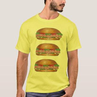 Submarine Sandwich Sub Grinder Hoagie Hero T-Shirt
