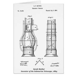 Submarine Telescope, Sarah Mather Card