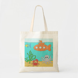 Submarine Tote Bag