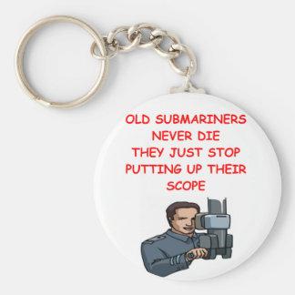SUBmariners never die Key Ring