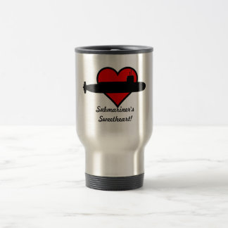 Submariner's Sweetheart Travel Mug