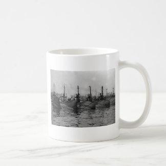 Submarines Ready for Action, 1911 Basic White Mug