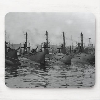 Submarines Ready for Action, 1911 Mouse Pad