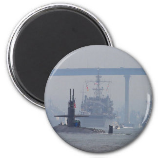 Submarines Subs Nuclear Ships Navy 6 Cm Round Magnet