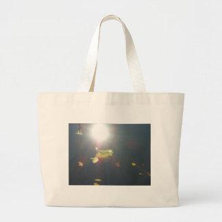 Submerged Leaf Tote Bag