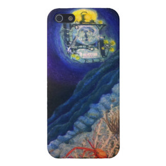 Submersible on a Deep-Sea Coral Reef Case For iPhone 5/5S