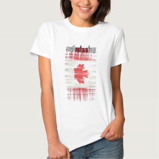 subMISSion Canada white T Shirts