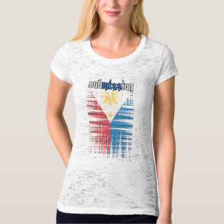 subMISSion Phillipines white Tee Shirt