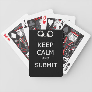 Submit Playing Cards