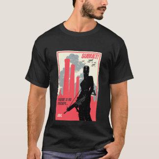 SUBMIT! poster art - dark shirt