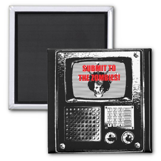 Submit ton the Zombies TV fridge likes! Magnet