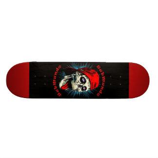 SubMundo Shape Skull 20 Cm Skateboard Deck