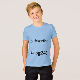 subscribe ddog246 t-shirt-kids T-Shirt
