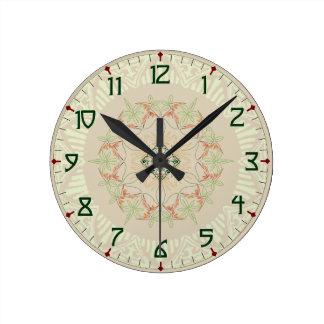 Subtle Art Deco Clock