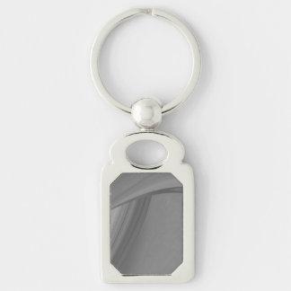 Subtle Charcoal Key Ring