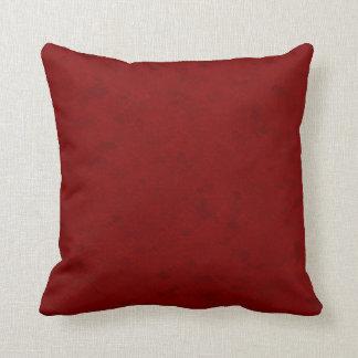 Subtle Dark Red Pattern Cushions