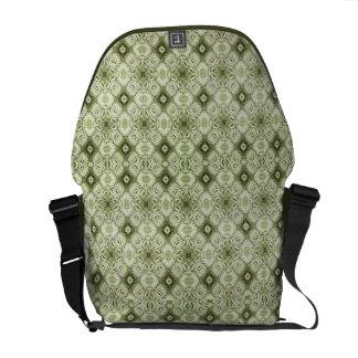 Subtle Decorative Pattern Rickshaw Messenger Bag