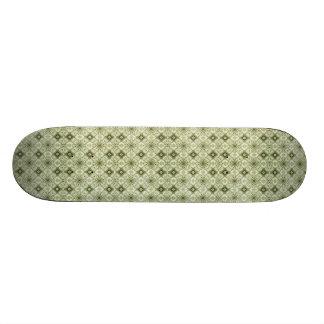 Subtle Decorative Pattern Skateboard