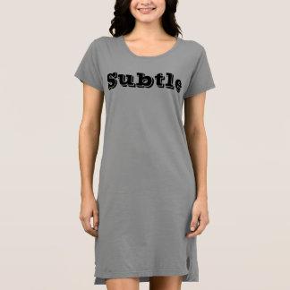 Subtle Dress