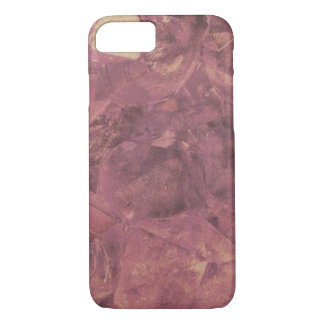 Subtle grungy gem texture iphone 7 case