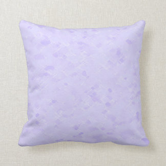 Subtle Pale Lavender Pattern Throw Pillow