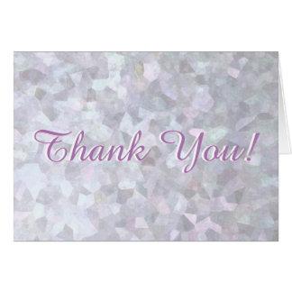 Subtle Pastel Glitter Card