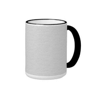 Subtle Running Bond Brick Ringer Mug