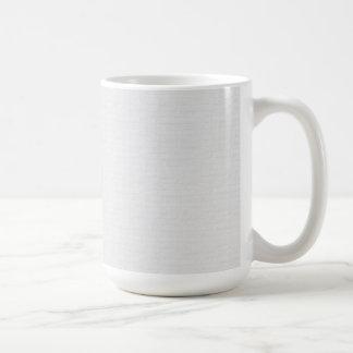 Subtle Running Bond Brick Wall Basic White Mug